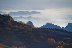 Beijing Jiankou Great Wall Royalty Free Stock Images