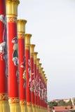 beijing kinesiska kolonner fyrkantiga tiananmen Royaltyfria Foton