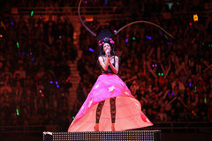 beijing konsertkaren mok 2009 Royaltyfri Fotografi