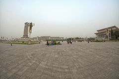 beijing kwadratowy Tiananmen porcelana beijing Zdjęcia Royalty Free