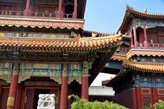 Beijing, Lama temple Royalty Free Stock Photos
