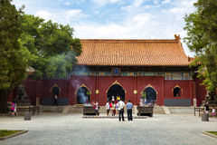 Beijing, Lama temple Royalty Free Stock Photos