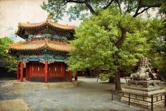 Beijing, Lama temple Royalty Free Stock Photo
