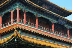 Beijing Lama Temple Royalty Free Stock Photography