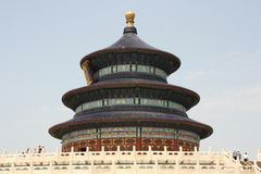 Beijing landmark - Temple of Heaven Stock Images