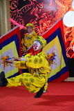 Beijing local drama. Beijing local opera opera name, this is a clown role among them stock image