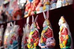 Beijing Lord Rabbit Figurines Stock Photos