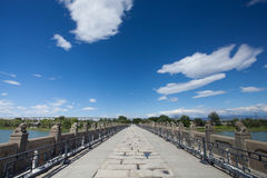 Beijing Marco Polo Bridge Royalty Free Stock Photography