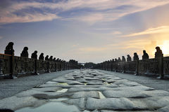 Beijing Marco Polo Bridge Royalty Free Stock Photos
