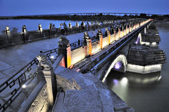 Beijing Marco Polo Bridge Royalty Free Stock Photo