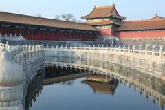 beijing miasto zakazujący pałac królewski Zdjęcia Royalty Free