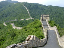 Beijing Mutianyu Great Wall in Huairou Stock Photos