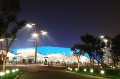 The Beijing National Aquatics. National Aquatics Center delivered for use Stock Image