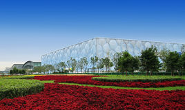 Beijing National Aquatics Center Stock Photography