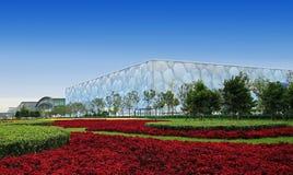 Beijing National Aquatics Center stock photography