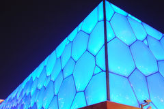 Beijing National Aquatics Center - Water Cube Stock Photo
