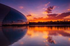 Beijing National Grand Theater royalty free stock photography