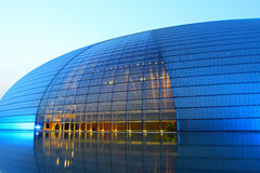 Beijing national grand theatre Stock Image