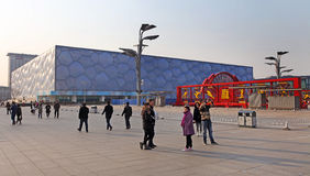 Beijing National Olympic Stadium /Bird s Nest Royalty Free Stock Photos