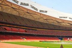 Beijing National Olympic Stadium/Bird s Nest Royalty Free Stock Photography