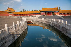 Beijing National Palace Museum Jinshui Bridge Royalty Free Stock Image
