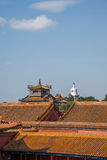 Beijing National Palace Museum roof eaves Royalty Free Stock Photos