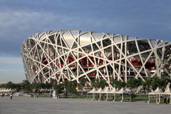 THE BEIJING NATIONAL STADIUM Stock Photos