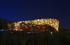 The beijing national stadium Stock Photos