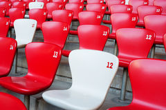 Beijing National Stadium chair Stock Photography