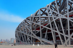 Beijing National Stadium Royalty Free Stock Image
