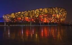 Beijing Nest night Stock Photos