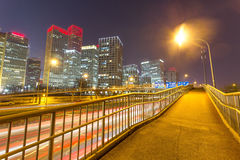 Beijing night scenery Stock Images