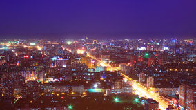 Beijing night scenery Royalty Free Stock Images
