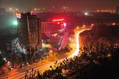 Beijing night scenes Royalty Free Stock Photo