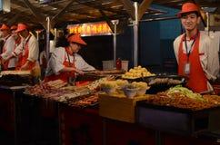 Beijing night snack market Stock Image