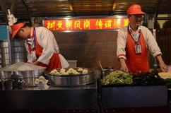 Beijing night snack market Royalty Free Stock Photography