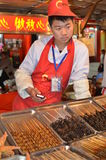 Beijing night snack market Royalty Free Stock Photos