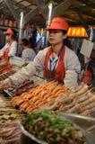 Beijing night snack market Stock Images