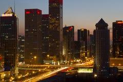 beijing okręg biznesowy środkowy Zdjęcie Royalty Free