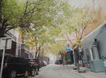 Free Beijing Old Alley Street 5 Royalty Free Stock Image - 80804686