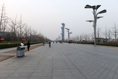 Beijing Olympic park Royalty Free Stock Images