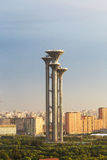 Beijing Olympic park tower Royalty Free Stock Images