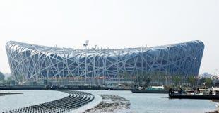 Beijing olympic stadium Royalty Free Stock Image
