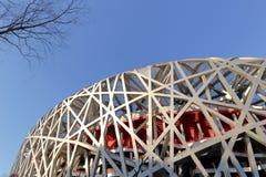 Beijing olympic niao chao stadium, adobe rgb Royalty Free Stock Photography