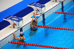 Olympic sized swimming pool royalty free stock photography image 21376657 for Beijing swimming pool olympics