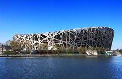 Beijing Olympics  National Stadium Stock Photo
