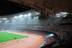 Beijing olympics statium Royalty Free Stock Photography