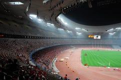 beijing olympiska spelstatium Royaltyfri Bild