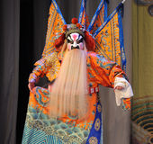 Beijing Opera: Chu Han contention Royalty Free Stock Image
