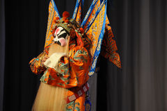 Beijing Opera: Chu Han contention Royalty Free Stock Photography